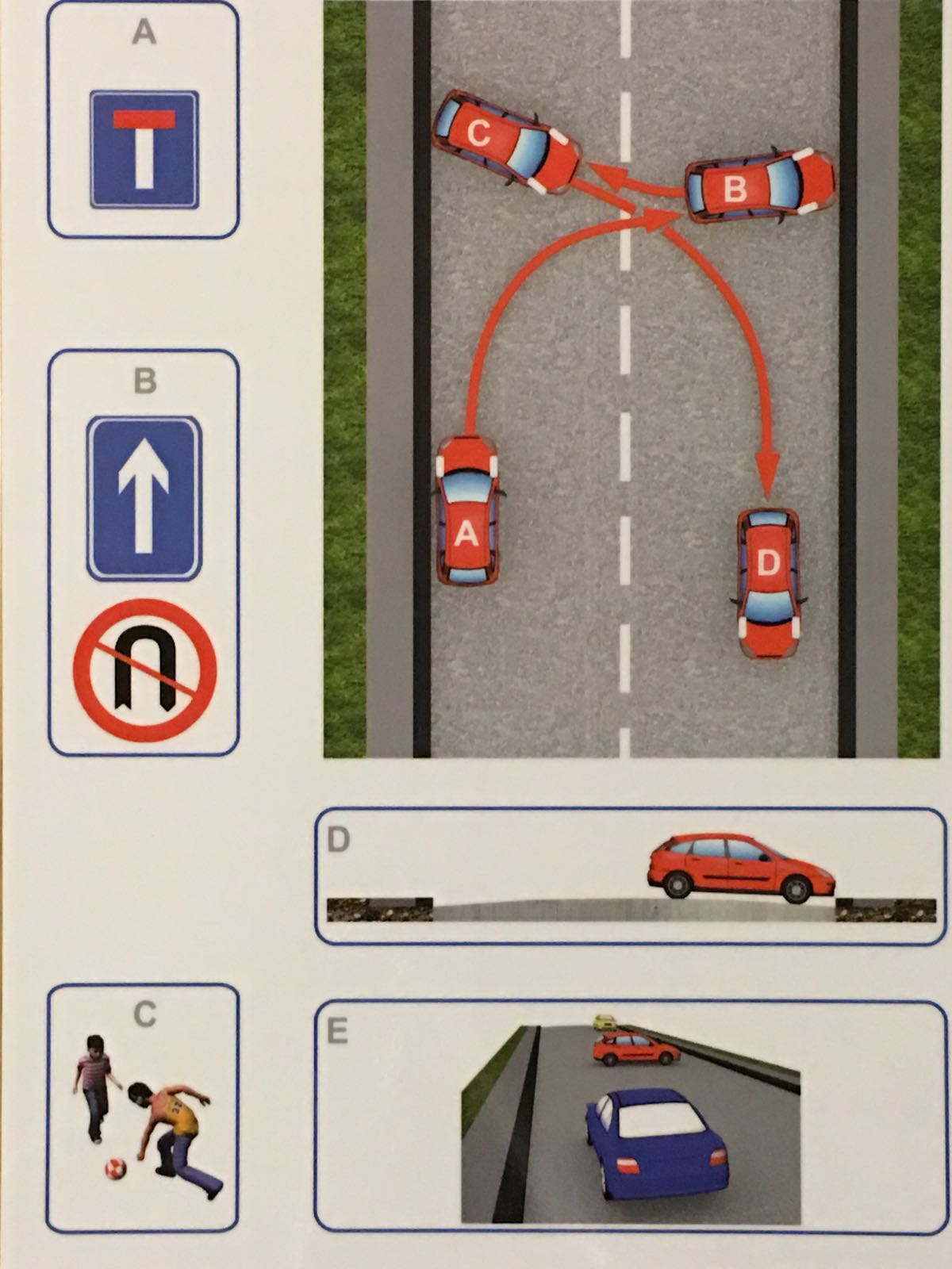 Turn In The Road (3-Point Turn)